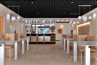 饭馆装修服务操作区的设计