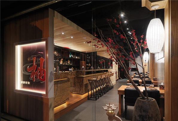 日式禅意主题餐厅设计