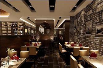 餐厅设计中的软装准则