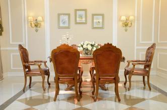 餐厅装修中餐台、餐椅、灯具的选择