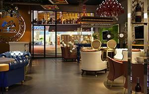 餐饮设计项目之巴黎红酒咖啡厅