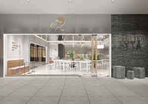 餐饮设计项目之方后服装咖啡厅