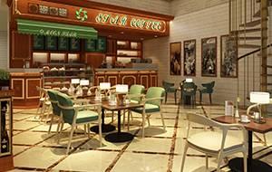 餐饮设计项目之星悦咖啡