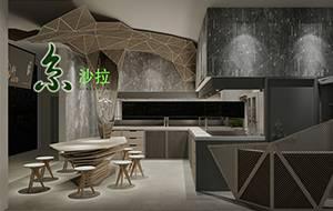 餐饮设计项目之京沙拉标准店