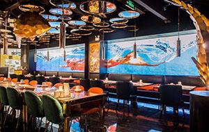 餐饮设计项目之鱼非鱼海洋主题餐厅