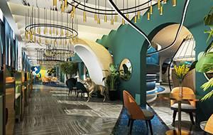 爱琴海西餐厅设计