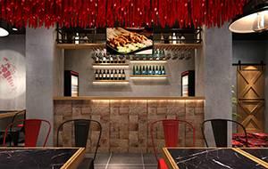 餐饮设计项目之自在扒龙虾馆