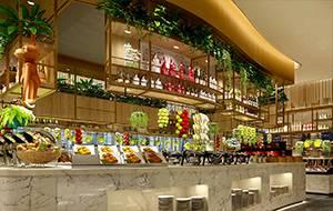 餐饮设计项目之阿尔卑斯凯德Mall店