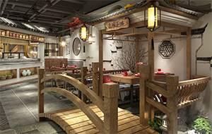 餐饮设计项目之湘人龙记小吃王国