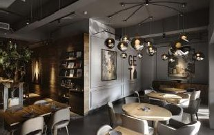 餐厅设计装修中背景墙的风格