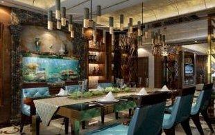 餐厅设计软装配饰的新古典主义风格