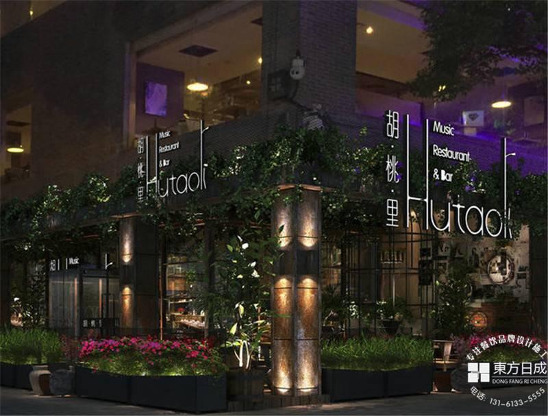 红酒咖啡,彰显西餐厅设计的优雅气质