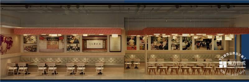 独特的餐饮店面设计方式