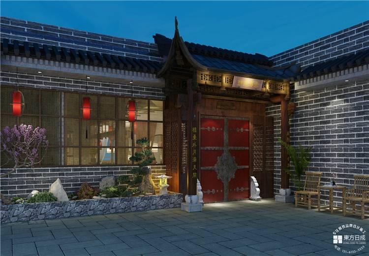 <b>餐饮设计,四川传统韵味的火锅店</b>