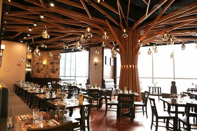 餐厅设计|就餐区客席的不同布局