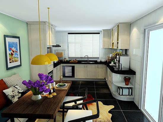 厨房与餐厅设计_厨房和餐厅设计效果图_厨房餐厅设计效果图大全