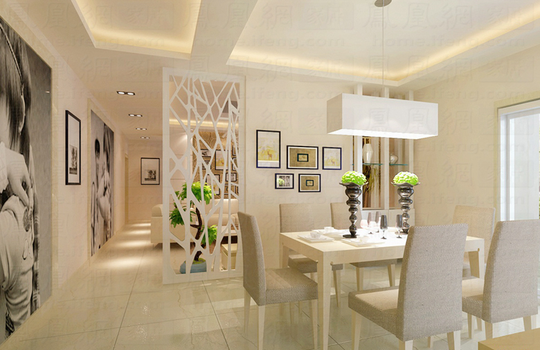 客厅和餐厅隔断_客厅与餐厅隔断设计_客厅餐厅隔断设计