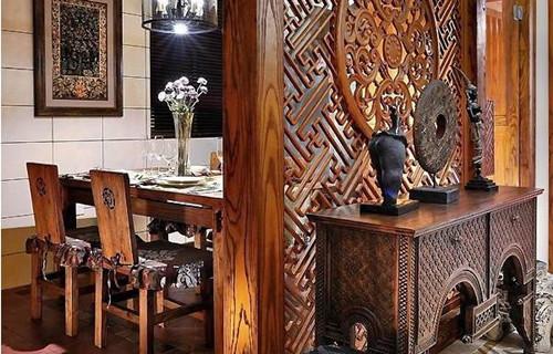 中式餐厅装修效果图大全 中式餐厅装修后悔没早点看到0