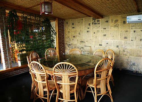 特色农家饭店整体装修效果图 5款传统中国风农庄饭店设计图片