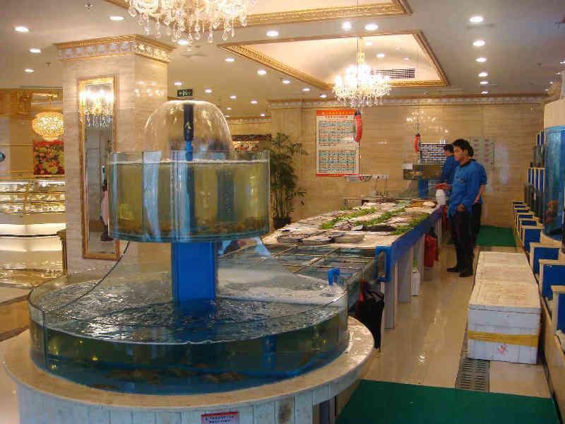 海鲜饭店装修装饰风格室内设计图 4款海鲜大酒楼主题餐厅大厅装修案例图