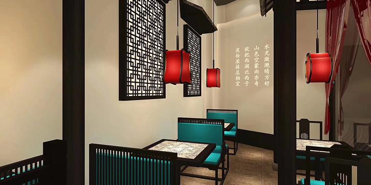 广州二小姐的店餐饮空间设计-2