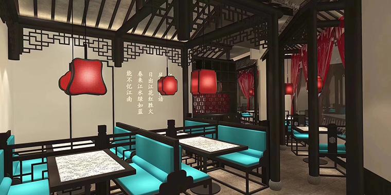 广州二小姐的店餐饮空间设计-3