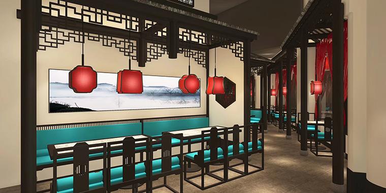 广州二小姐的店餐饮空间设计-5