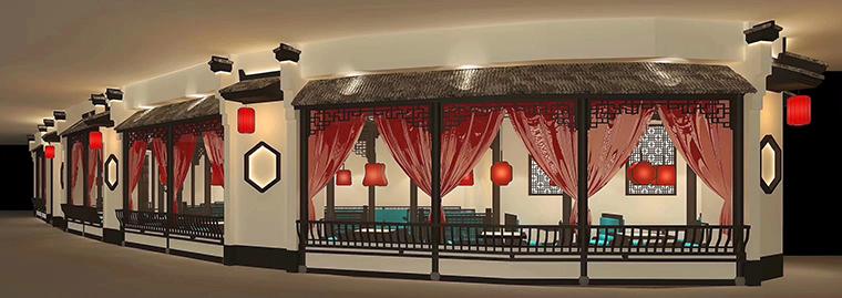 广州二小姐的店餐饮空间设计-7