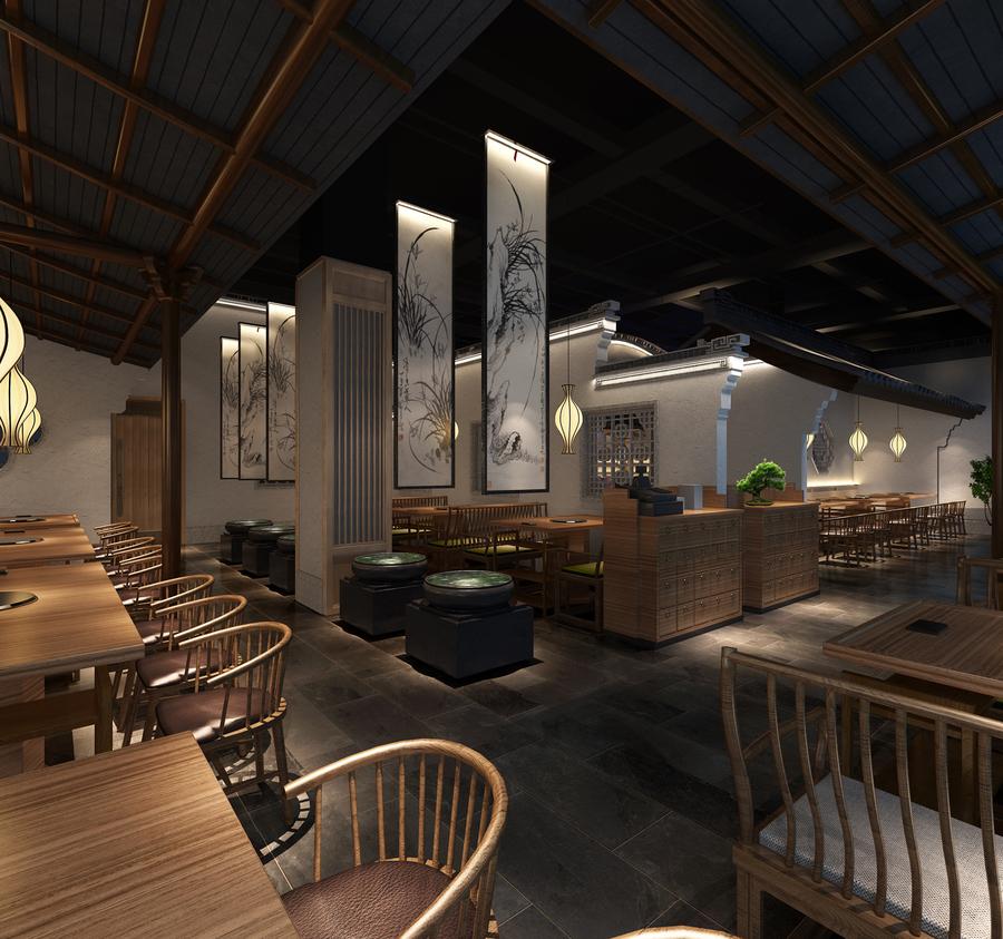 南京浦口区餐厅饭店设计施工公司,量身设计