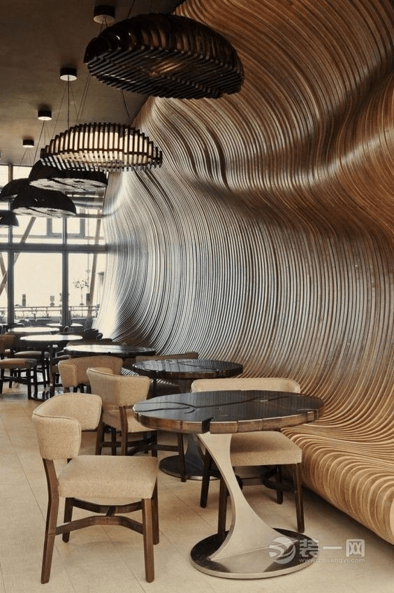 创意饭店装修效果图