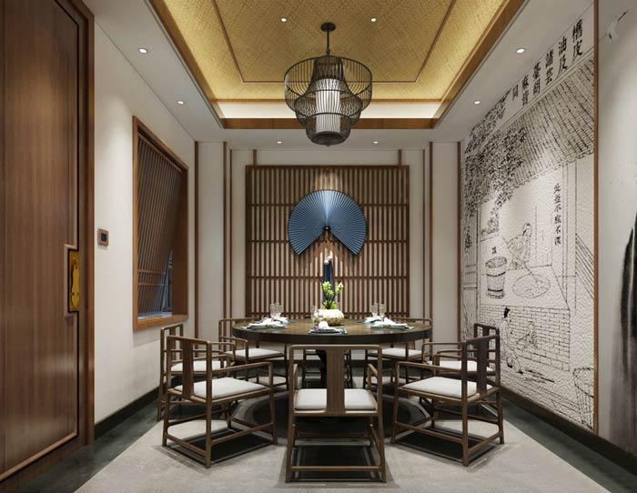 中餐厅设计功能分区说明,看完别说你还不会!