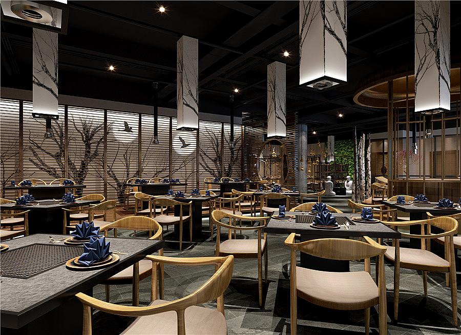 怎么装修出一家有创意的餐饮店