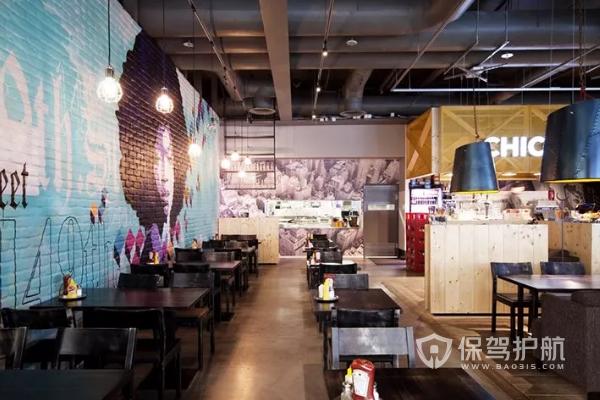 餐饮店装修效果图-保驾护航装修网
