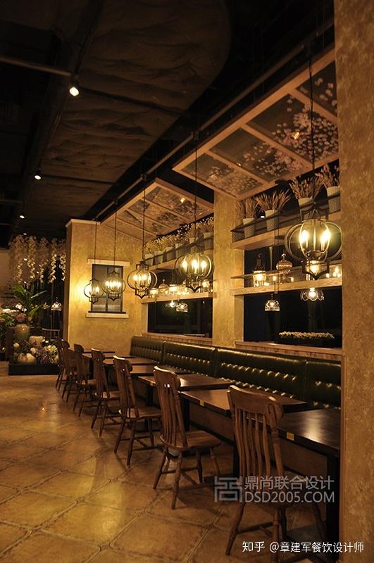 餐饮设计|如何定位西餐厅设计的布局与风格