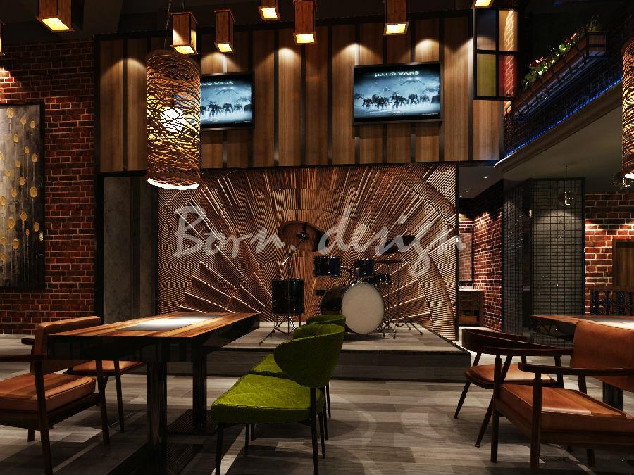 音乐主题餐厅设计_音乐主题餐厅设计