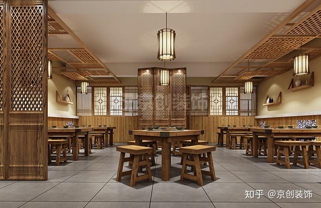600平高档中餐厅装修设计技巧
